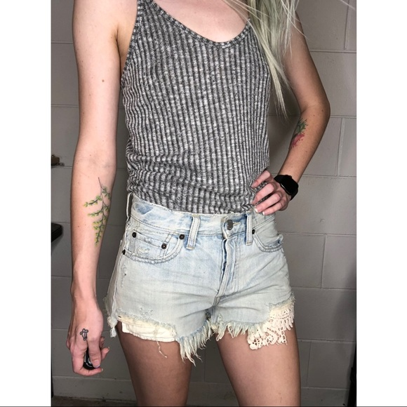 We The Free Pants - We The Free | FREE PEOPLE Daisy Chain Lace Shorts